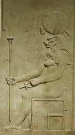 Abydos Temple carving of Bas