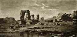 Ruins of a third temple on Philae Island.