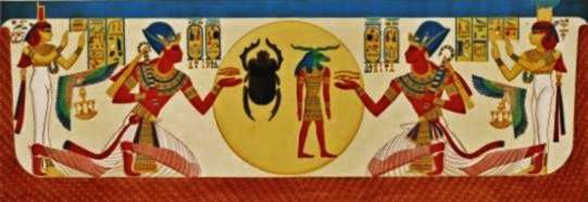 from the tomb of Ramsses X