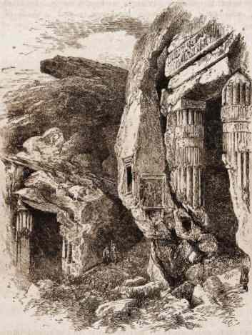Shrines of the Quarrymen, Silsilis, by Samuel Manning, 1875.