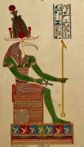 Thoth from the Champolian Expedition
