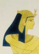 Queen Nefertari, probably by Salvador Cherubini.
