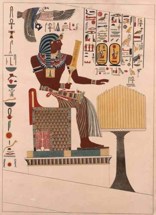 Pharaoh-King Seti I.