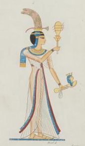 An Egyptian princess, daughter of Ramesses II